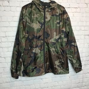Forever 21 Men Camo Casual Jacket